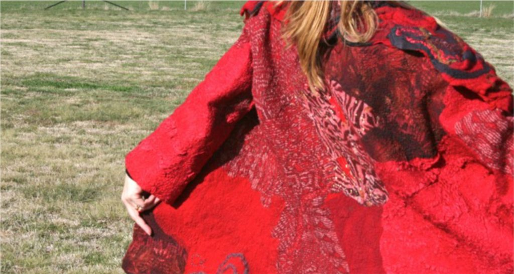 natural fibre art clothing