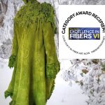 natural fibre felt art clothing